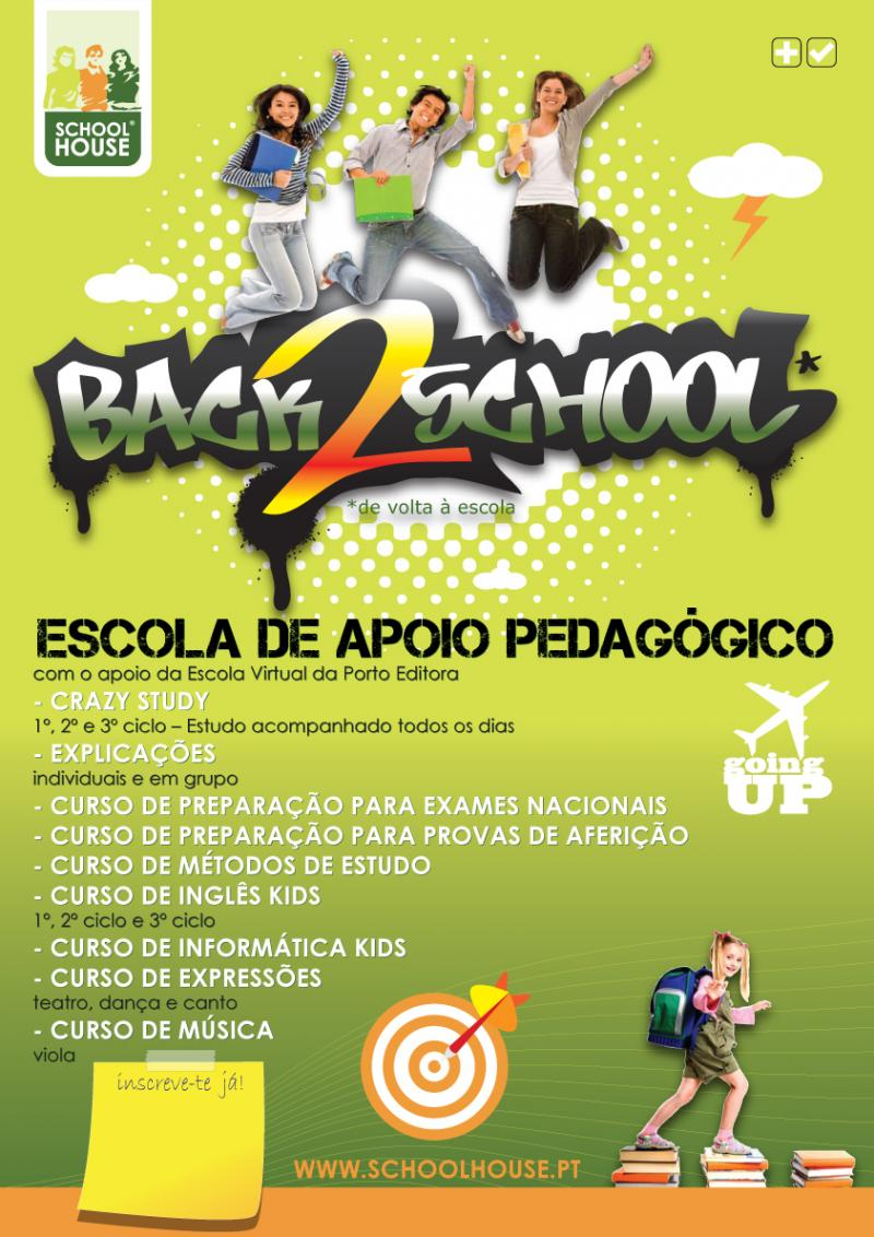 Design Cartaz Back 2 School
